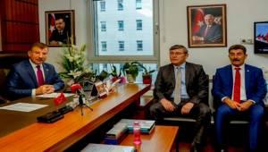 Cevheri Kazakistan Büyükelçisini Kabul Etti