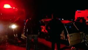 Ceylanpınar'da trafik kazası 3'ü ağır 4 yaralı