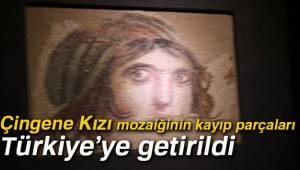 Çingene Kızı Mozaiğinin Kayıp Parçaları Türkiye'ye Getirildi