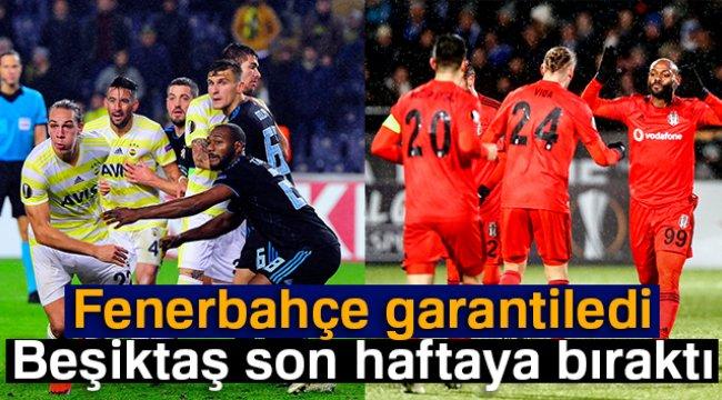 Fenerbahçe garantiledi Beşiktaş son haftaya bıraktı