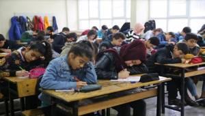 Haliliye'de 12 Bin Öğrenci Deneme Sınavına Katıldı