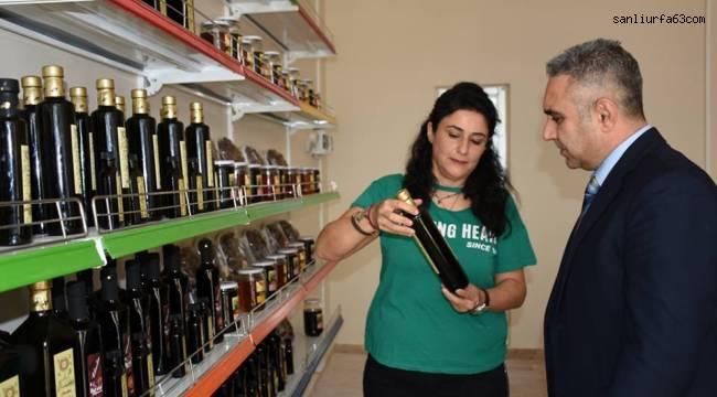 Harran Üniversitesinde Organik Ürünlerin Satışı Başladı