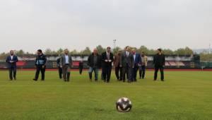 Karaköprü'ün Yeni Stadyumu Açılıyor