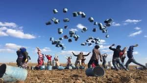 Mevsimlik Tarım İşçilerinin Eve Dönüş Sevinci