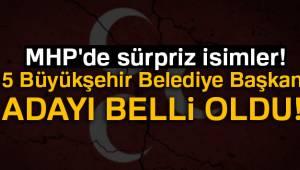MHP'de 12 Belediye Başkan Adayı Belli Oldu