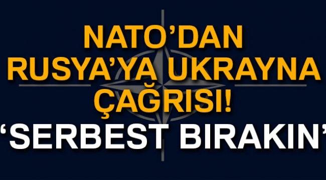 NATO'dan Rusya'ya Ukrayna Çağrısı