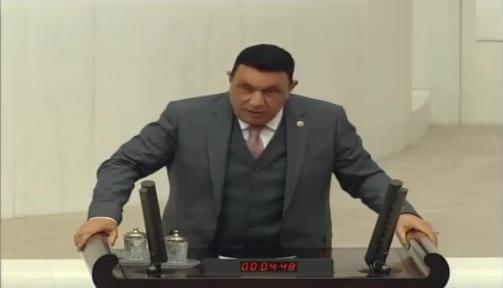 Özyavuz, Şanlıurfa'nın Sorunlarını Meclise Taşıdı