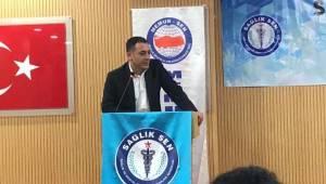Sağlık-Sen Şanlıurfa'nın Yeni Başkanı Abdülkadir YABİR