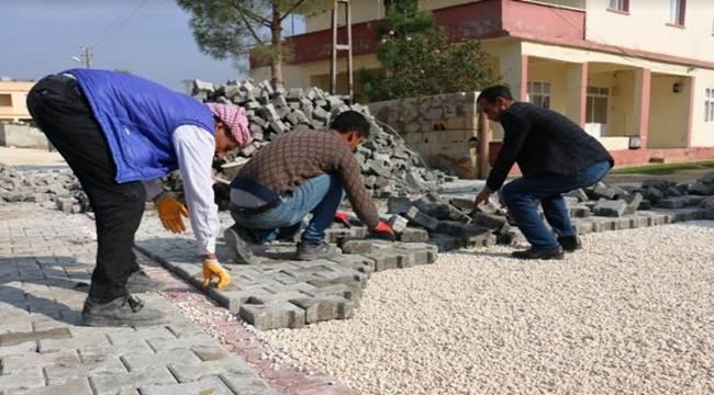 Şahinler Mahallesinde Kilitli Beton Parke