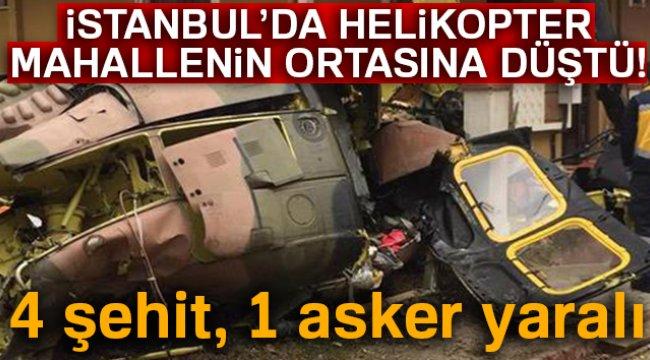 Sancaktepe'de 4 asker şehit, 1 asker yaralı