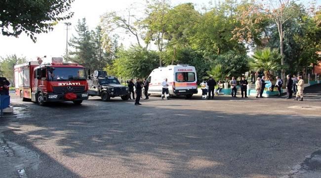 Şanlıurfa Cezaevindeki Yangın İhbarı Korkuttu