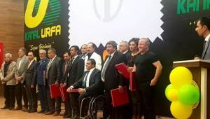 Şanlıurfa'da İz Bırakanlar Ödüllerini Aldı