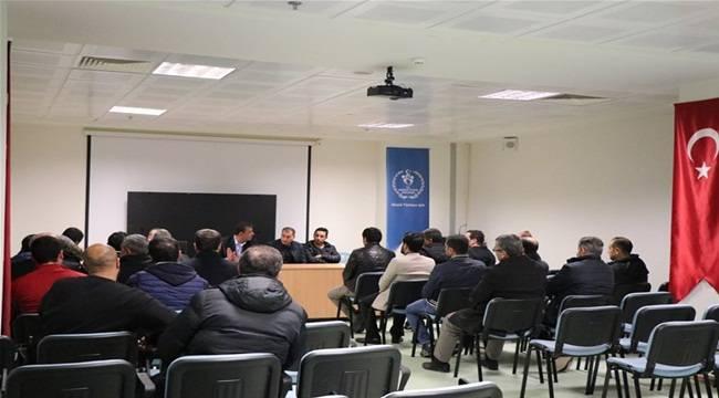 Şanlıurfa'da Okul Sporları Bilgilendirme Toplantısı Yapıldı