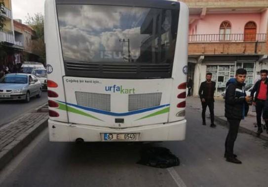 Şanlıurfa'da otobüsün çarptığı çocuk öldü