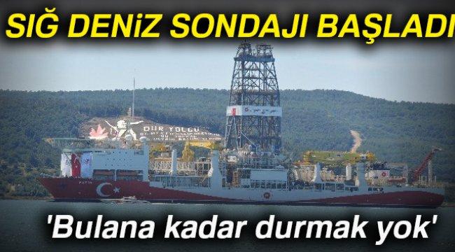 Sığ Deniz Sondajı Faaliyetleri Başladı