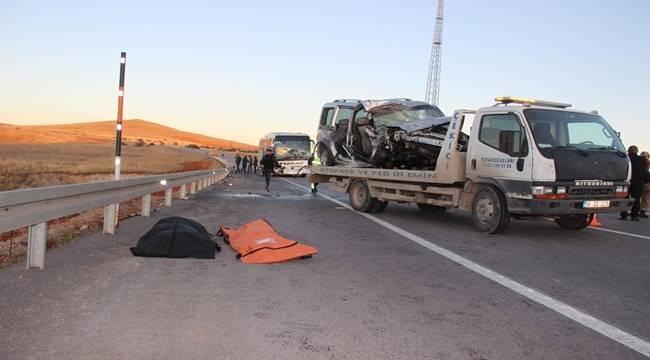 Sivas'taki Kazada 2 Urfalı Öldü