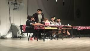 Siverek'te Öğretmenler Gününe Özel Tiyatro