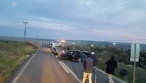 Siverek'te Otomobil Takla Attı 1 Yaralı