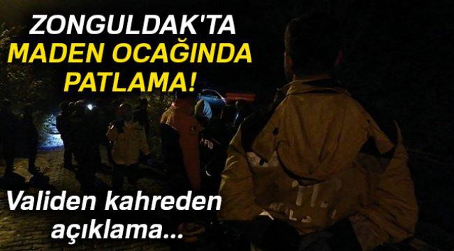Zonguldak'ta maden ocağında patlama meydana geldi