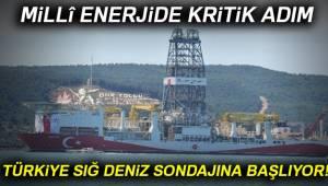 Türkiye sığ deniz sondajına başlıyor