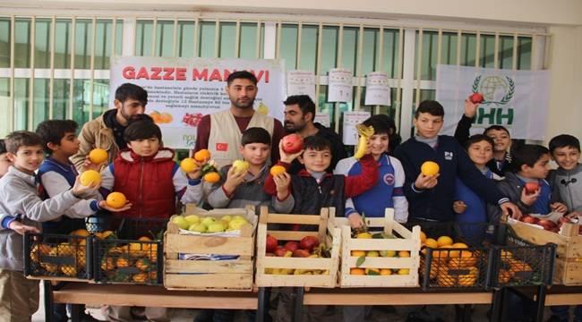 Urfa'da İki Okulda Gazze Manavı Açıldı