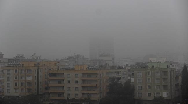 Urfa'da Sis ve Yağmur Etkili Oldu