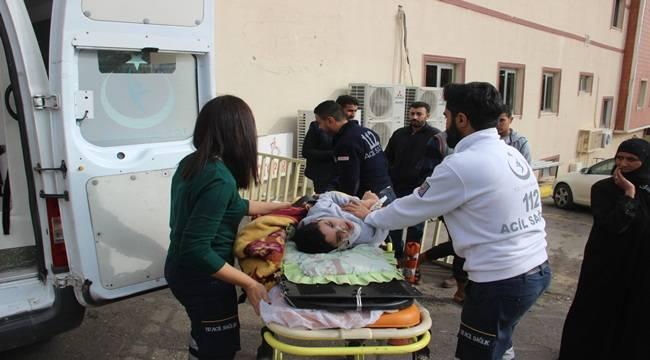 Urfa Mardin Yolunda Kaza 3 Yaralı