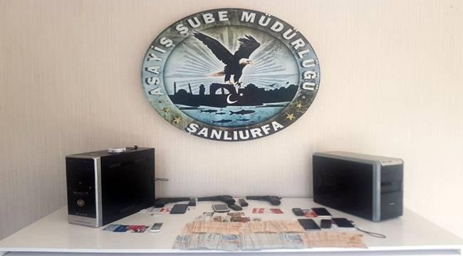 Urfa Merkezli Operasyonda 31 Kişi Tutuklandı