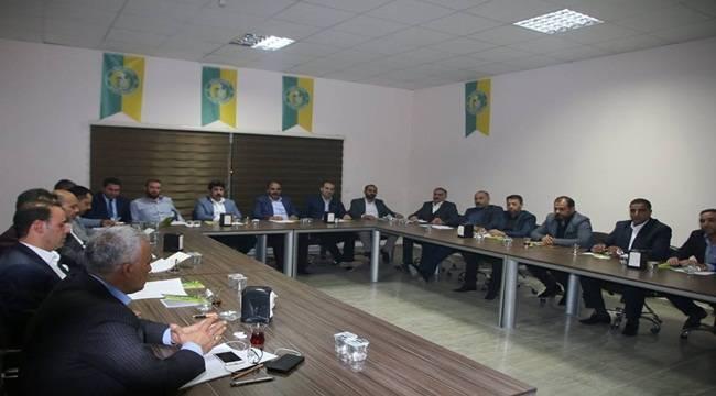 Urfaspor'da Yeni Yönetim Görev Bölümü Belli Oldu