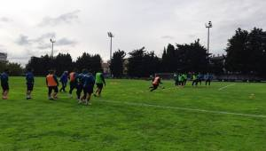 Urfaspor Galatasaray Tesislerinde Çalıştı