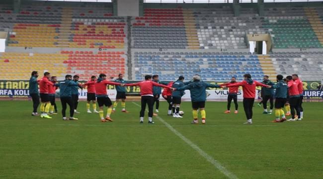 Urfaspor Tokat Maçına Hazırlanıyor