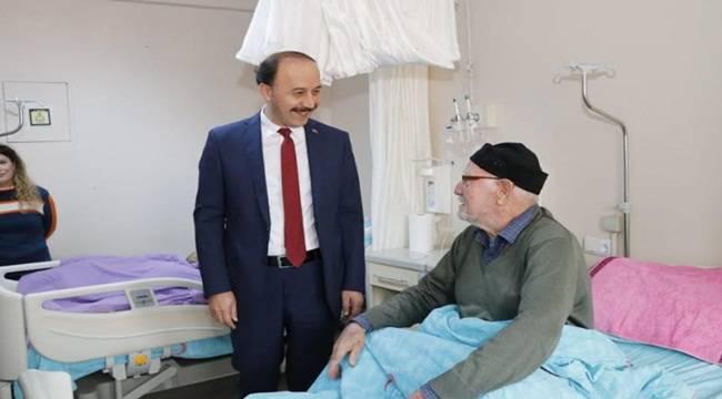Vali Erin Bozova Devlet Hastanesini Ziyaret Etti
