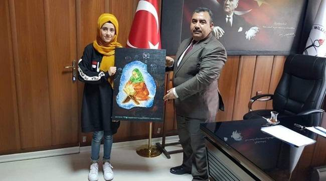 Viranşehirli Öğrenci Türkiye Üçüncüsü Oldu