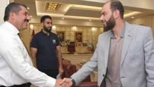 Yardım Kuruluşundan Başkan Atilla'ya ziyaret