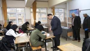 12.ve 8. Sınıf öğrencilerine Deneme Sınavı Yapıldı