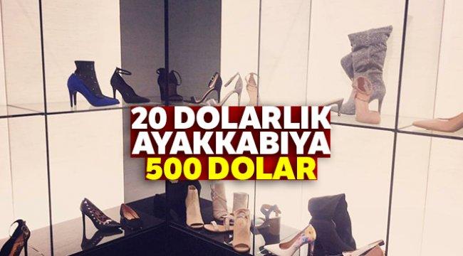 20 Dolarlık Ayakkabı 500 Dolara Satıldı