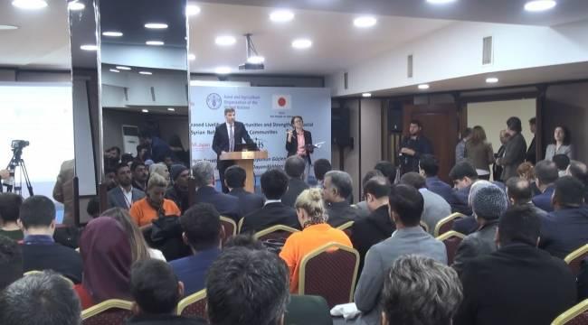 250 Türk ve Suriyeliye Sertifikaları Verildi