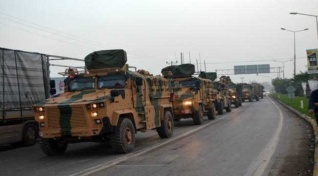 40 Askeri Araç Şanlıurfa Sınırına Sevk Edildi