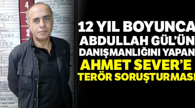 Abdullah Gül'ün Eski Başdanışmanına Soruşturma