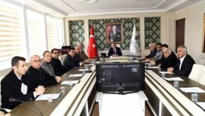 Adıyaman'da Mermer İhtisas Osb'nin Geleceği Masaya Yatırıldı