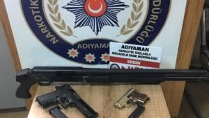 Adıyaman'da Uyuşturucu Operasyonuna 3 Tutuklama