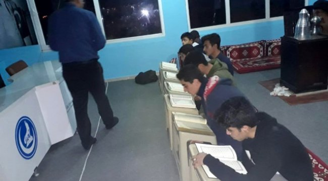 Adıyamanlı Ülkücü Gençler Kuran'ı Kerim ve İngilizce Öğreniyor