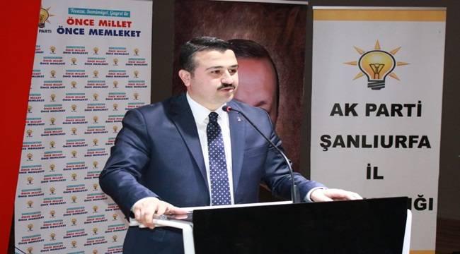 AK Parti Şanlıurfa'dan İlçe Adayları ile İlgili Açıklama
