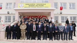 Akçakale'de İki Okulun Açılışı Yapıldı