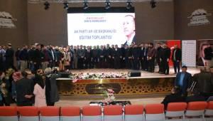 Akparti Şanlıurfa'da Arge Eğitim Toplantısı Yaptı
