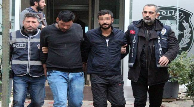 Antalya'da Kapkaç Şüphelileri Şanlıurfa'da Yakalandı