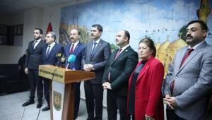 Bakan Kurum Şanlıurfa Büyükşehir'i Ziyaret Etti