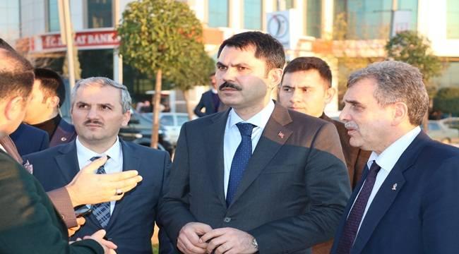 Bakan Murat Kurum Şanlıurfa'ya Geldi