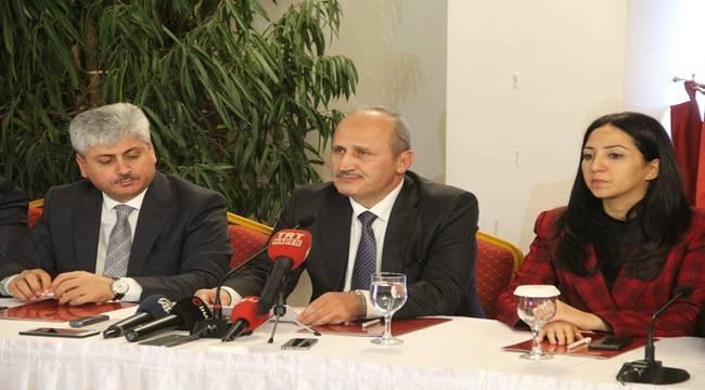 Bakan Turhan Şanlıurfa Liman Sahibi Olacak