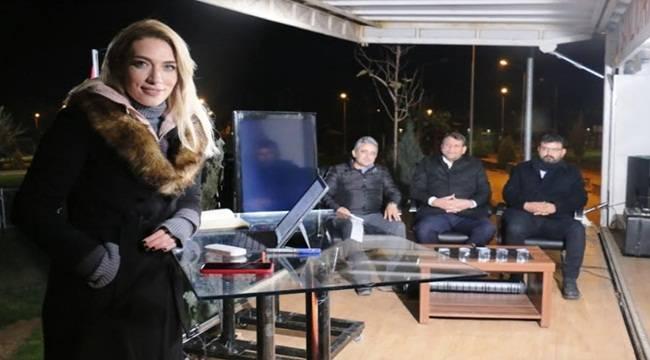 Basın Mensupları Akçakale'de Haber Nöbetinde